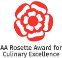 AA Rosette Award for Culinary Excellence at Playfair's Restaurant